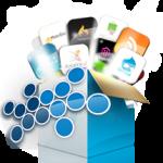 Webhosting met Installatron